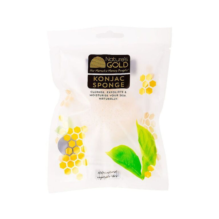 Konjac Sponge Pure White 100% Natural