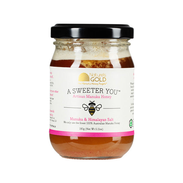 AUSTRALIAN MANUKA HONEY AND SALT 145g and 180g