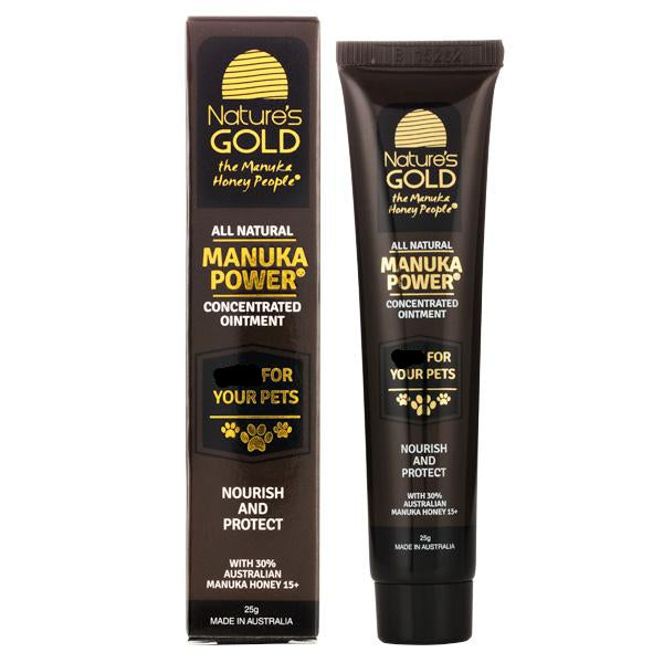 Manuka Power Concentrated Ointment for pets - BUY ONE, GET ONE FREE
