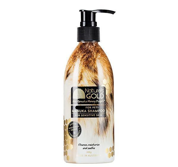 Manuka Shampoo for pets with sensitive skin - receive 10% DISCOUNT