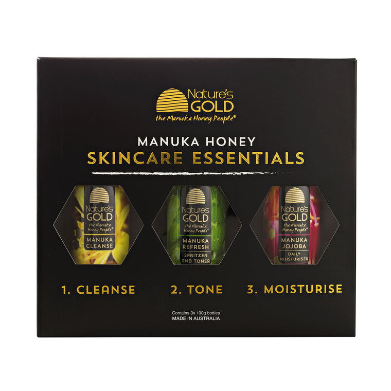 Manuka Honey Skincare Essentials Gift Pack