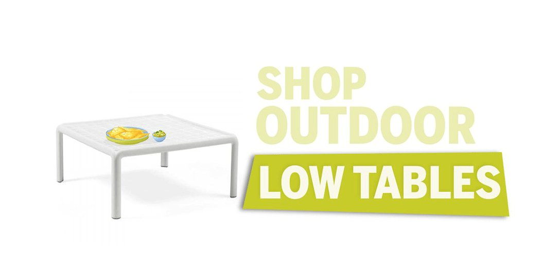 Outdoor Low Tables
