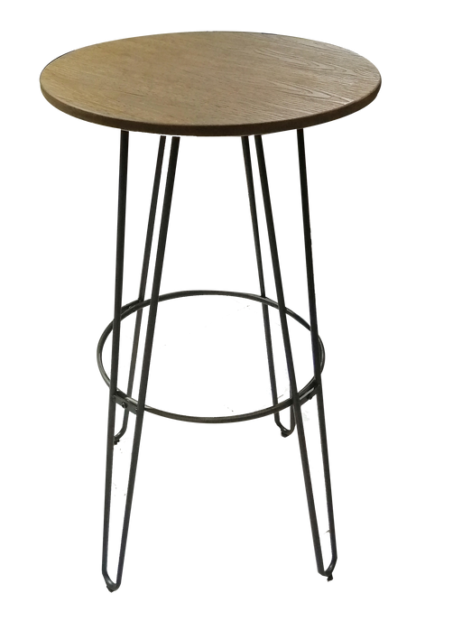 Outdoor Bar Table | Rust T-14080