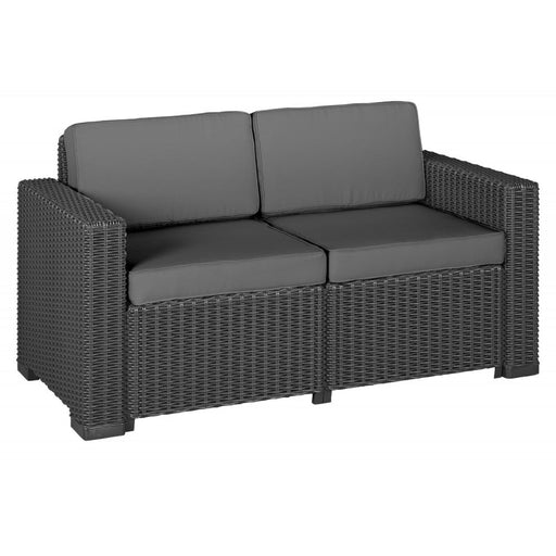 Grey 2 seater outdoor