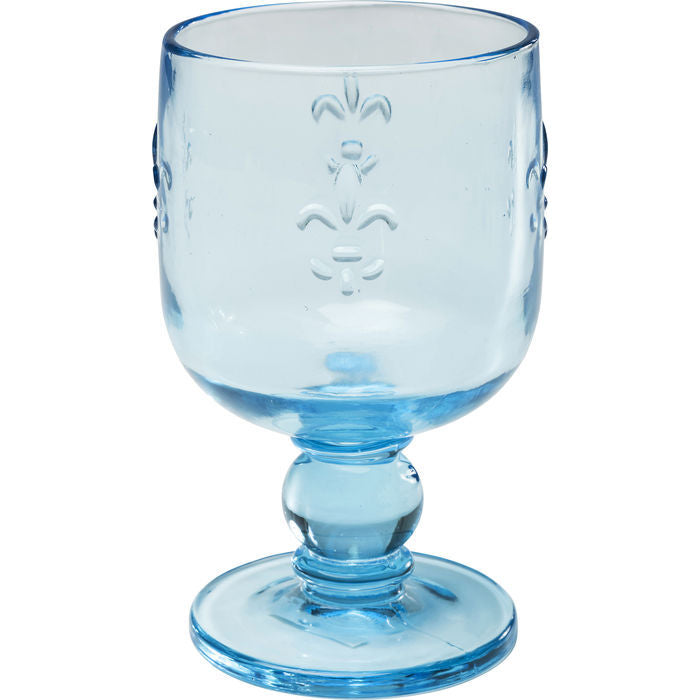Wine Glass Goblet Turquoise