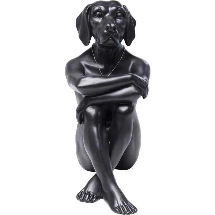 Deco Figurine Gangster Dog Black
