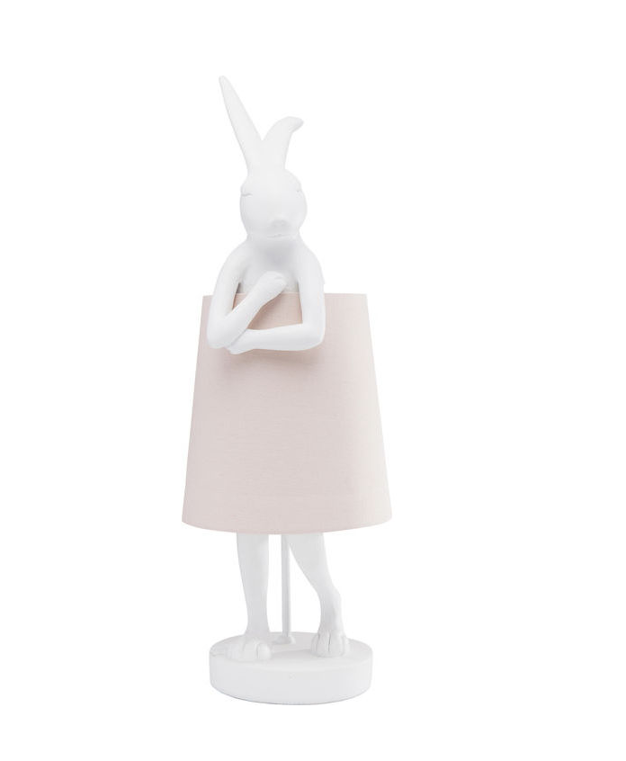 Table Lamp Animal Rabbit White