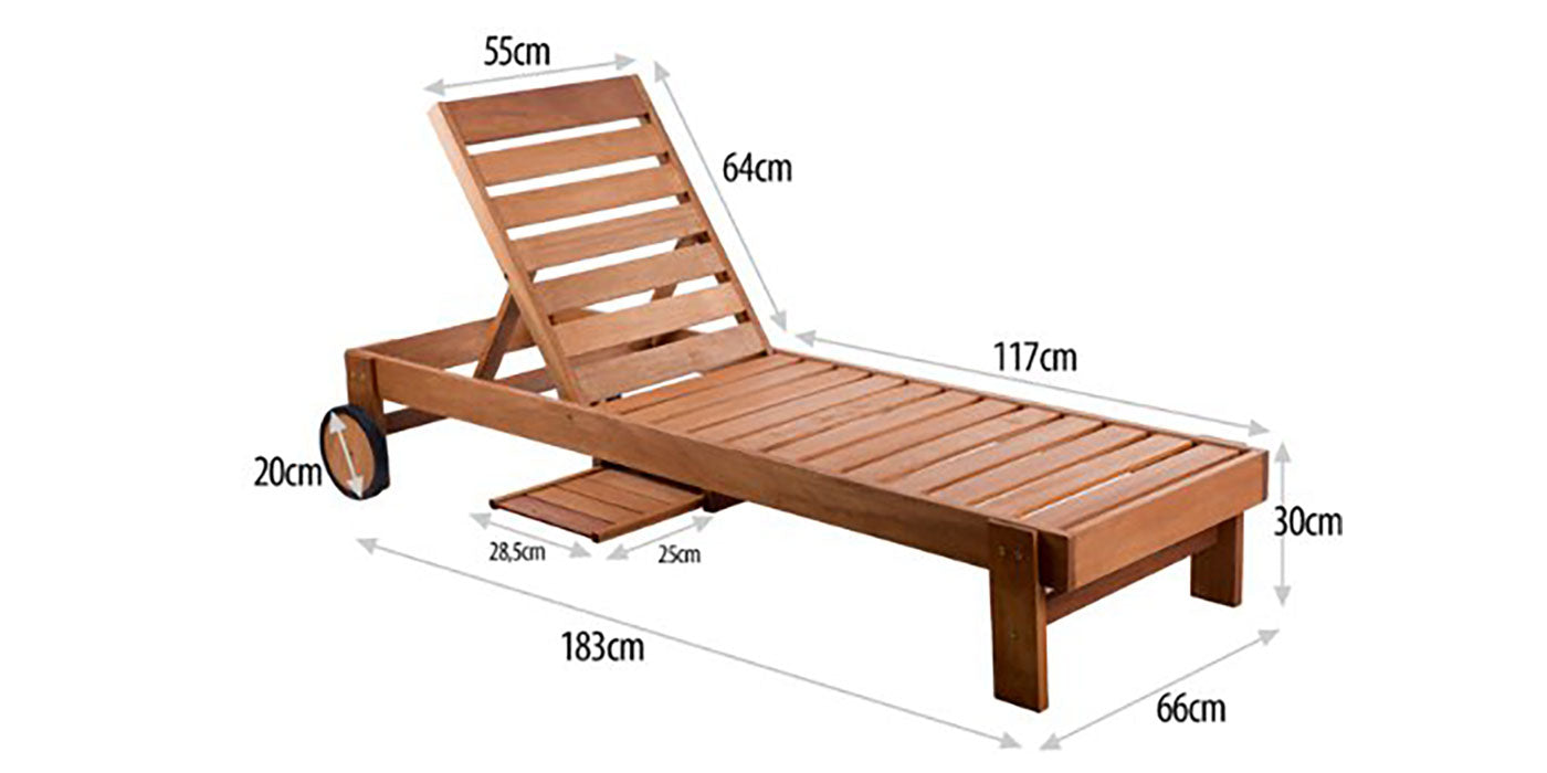 Sun Lounger | NJ 1405