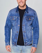 Load image into Gallery viewer, Color Me Cool Denim Jacket - Shooting Starz Shopette
