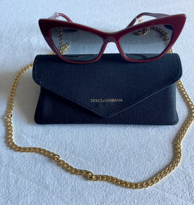 Gold-Plated Cuban Link Eyeglass Chain - Shooting Starz Shopette