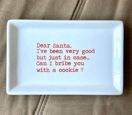Santa Cookie Tray - Shooting Starz Shopette