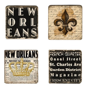 New Orleans Coaster Set - Shooting Starz Shopette