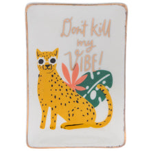 Load image into Gallery viewer, Don't Kill My Vibe Small Jewelry Tray - Shooting Starz Shopette