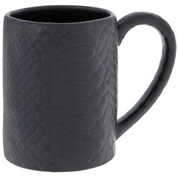 Matte Black Crocodile Mug - Shooting Starz Shopette