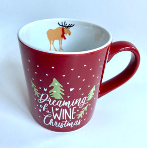 Wine Christmas Mug - Shooting Starz Shopette