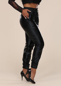 Waterfall Coated Joggers - Shooting Starz Shopette