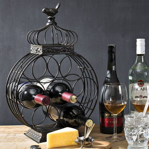 Bird wine holder