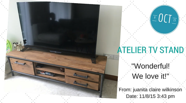 Atelier tv stand review