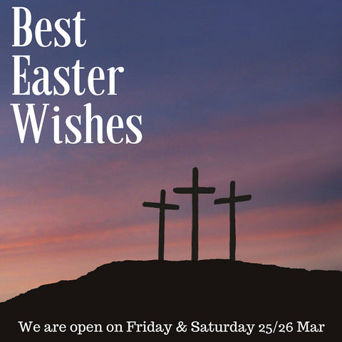 Holy Week's greetings to our customers
