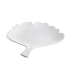 White Gingko Plate