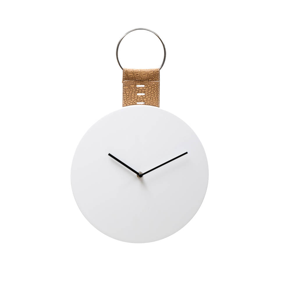 Simply White Wall Clock Nook And Cranny