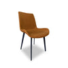Brown PU Leather Dining Chair Singapore