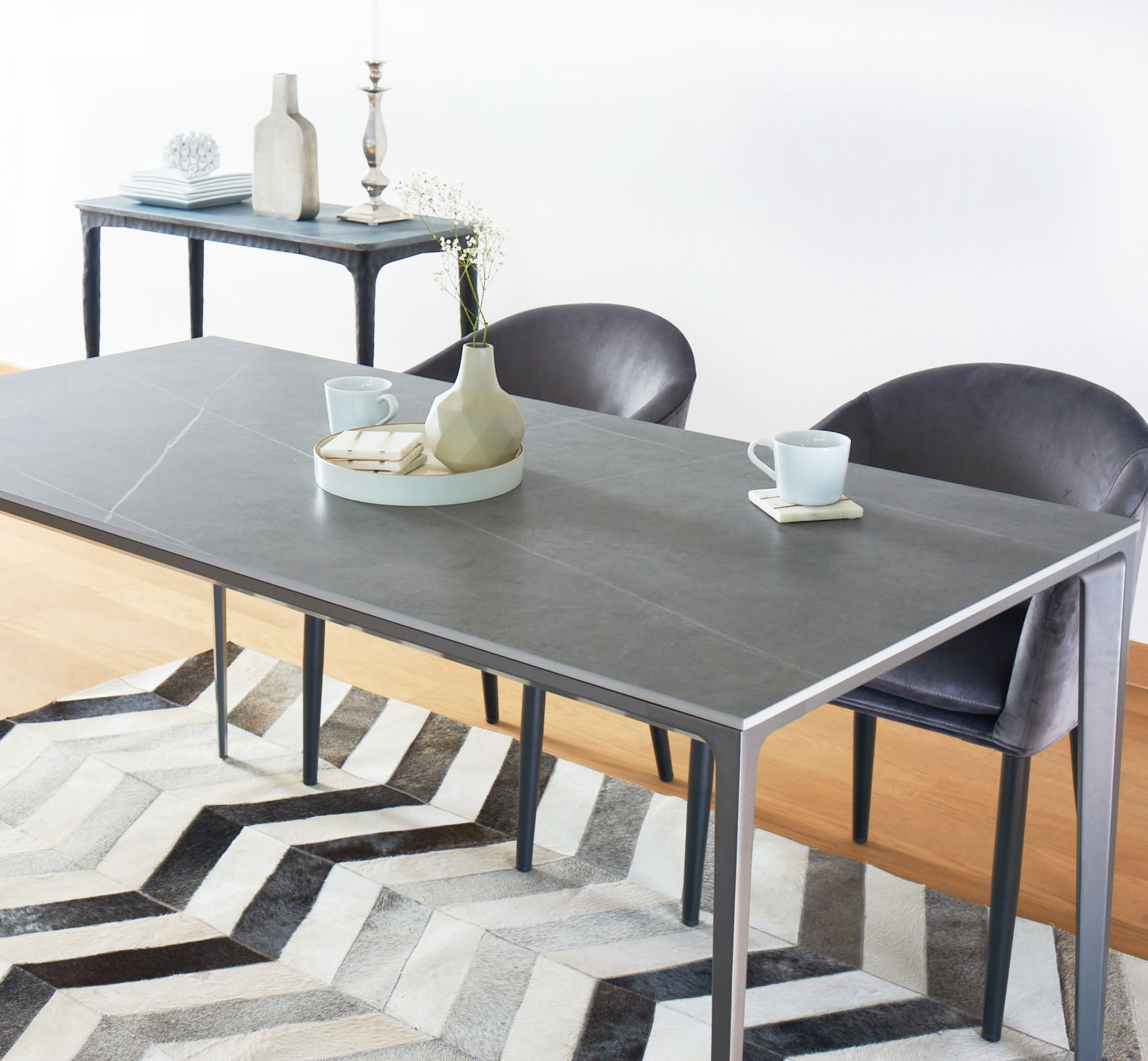 Alexis Sintered Stone Table Buy Dining Table Singapore Nookandcranny Nook And Cranny