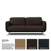 Andre Leather Sofa