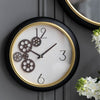 Black Gears Clock