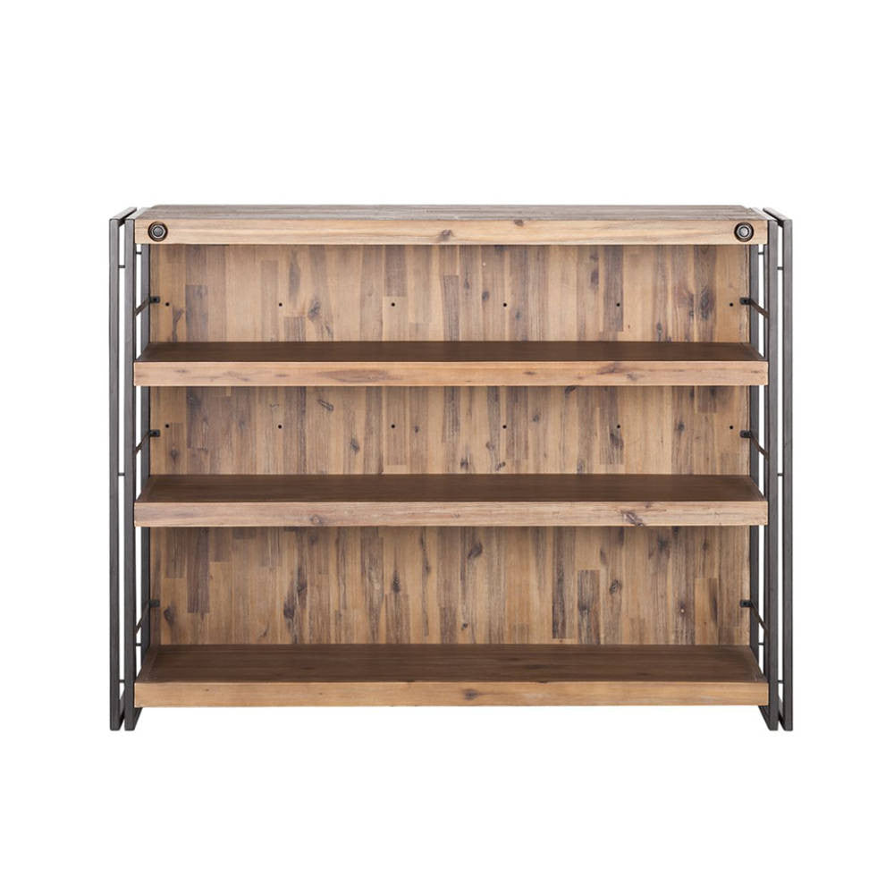 Reno Solid Acacia Wood Coffee Table: City Bar Counter