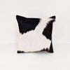 B&W Cowhide Cushion Cover