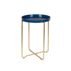 Celina Dark Blue Side Table