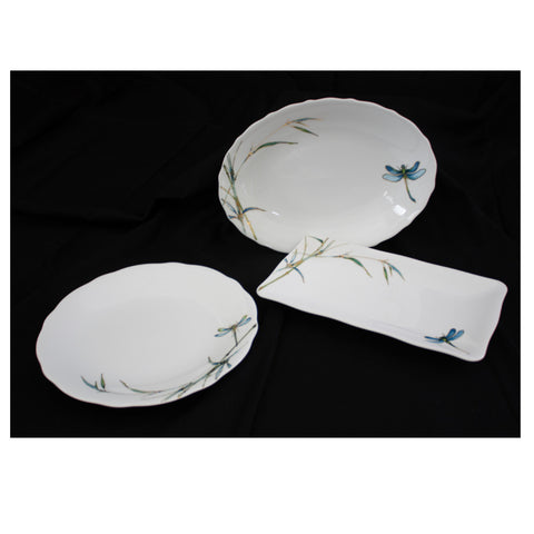 Serving Plates - Dragonfly (Set of 3)