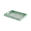 Green Clover Mirage Tray (L)
