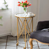 Gold Tripod Side Table