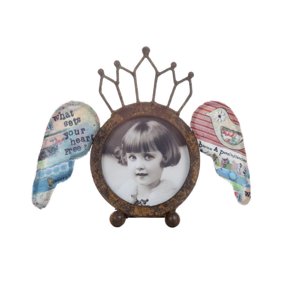 Crown & Wings Photo Frame