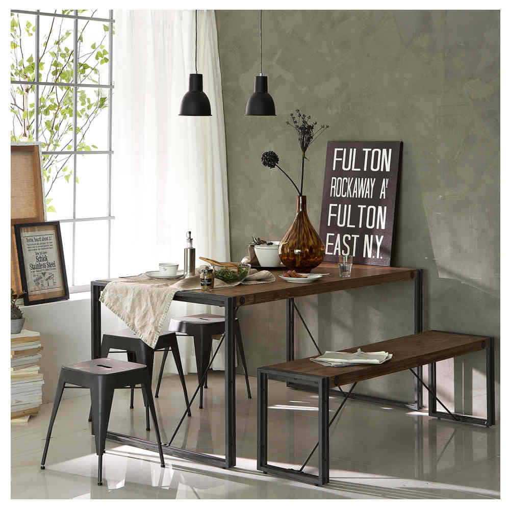 Industrial Kitchen Set: City Small Dining Set