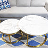 Maya Marble Nested Coffee Table