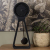 All Black Concrete Pendulum Time Clock