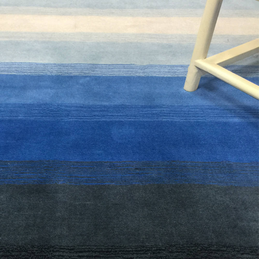 Feathers Series Rug - Blue Grey Tanager