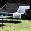 Rugen Outdoor 2-Seater Lounge Chair