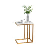 Khloe Rectangular Marble Side Table