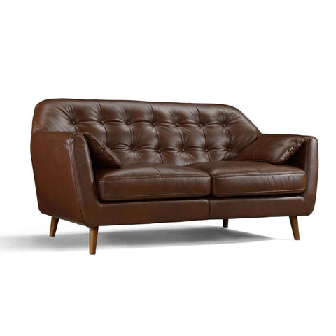 Julius Leather Sofa - 2.5 Seater - CAT 27
