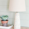 Speckled Stone Lamp