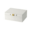 White Reptile Jewelry Box