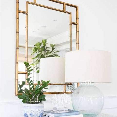 Bamboo Gold Mirror