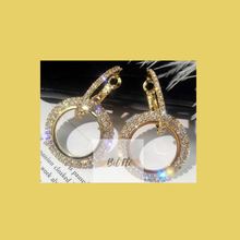 "Load image into Gallery viewer, ""Shine Bright"" Double Loop Earrings"