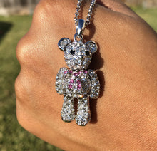"Load image into Gallery viewer, ""A Bear, Oh My!"" Necklace"