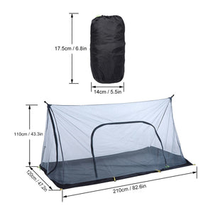 Ultralight Hiking Tent Outdoor Camping Mesh Tent Mosquito Insect Repellent Net Tent Guard Automatic Camping Sunshelter