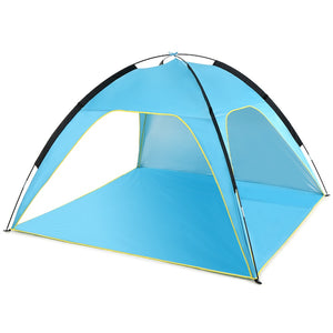 Outdoor Camping Lightweight Beach Tent Sun Shade Canopy UV Sun Shelter Travel Camping Fishing Tent with a carry bag